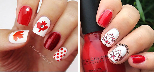 18-Canada-Day-Nails-Art-Designs-Ideas-2018-F