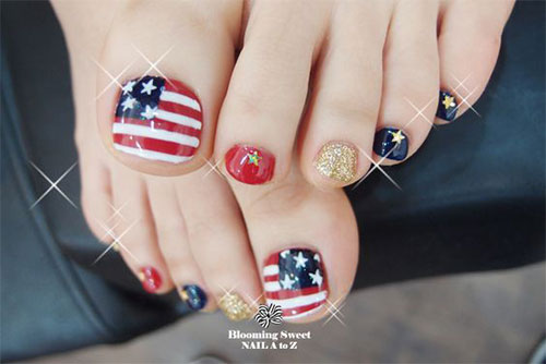 4th-of-July-Toe-Nails-Art-Designs-Ideas-2018-4