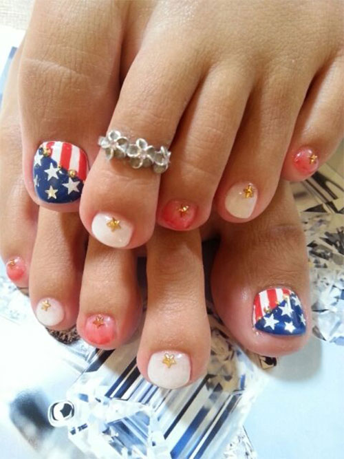 4th-of-July-Toe-Nails-Art-Designs-Ideas-2018-5