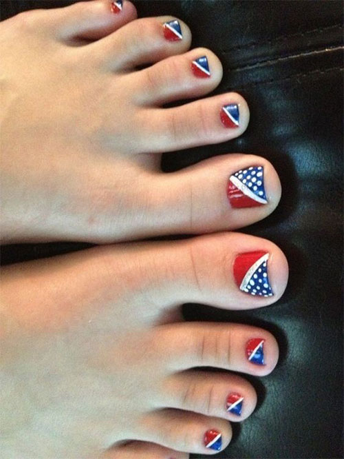 4th-of-July-Toe-Nails-Art-Designs-Ideas-2018-6