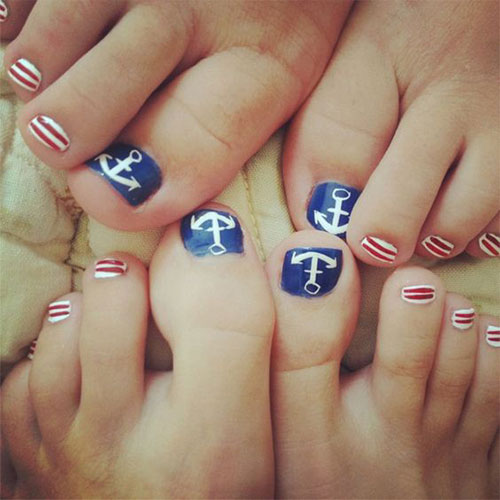 4th-of-July-Toe-Nails-Art-Designs-Ideas-2018-8