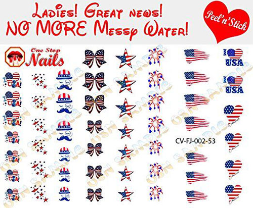 Awesome-4th-of-July-Nails-Art-Stickers-&-Decals-2018-2