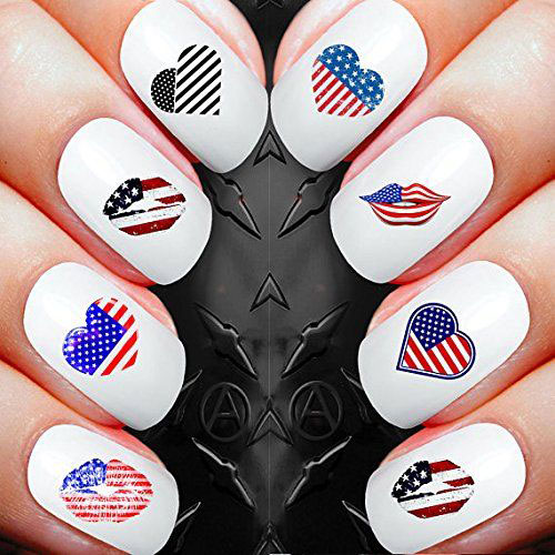 Awesome-4th-of-July-Nails-Art-Stickers-&-Decals-2018-3
