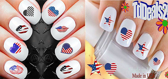 Awesome-4th-of-July-Nails-Art-Stickers-&-Decals-2018-F