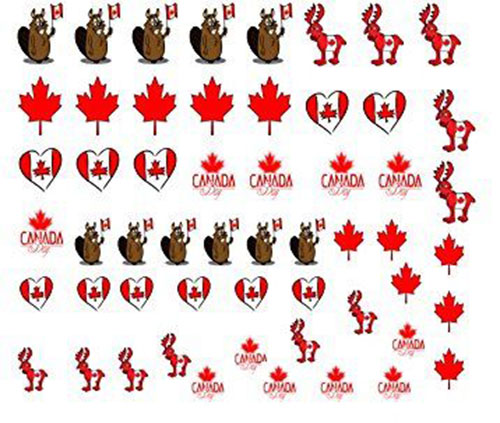 Canada-Day-Nails-Stickers-Decals-2018-4