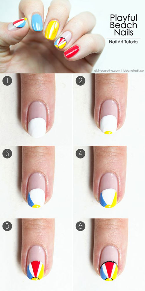 10-Easy-Summer-Nail-Art-Tutorials-For-Beginners-2018-12
