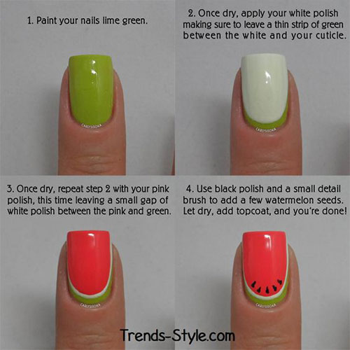 10-Easy-Summer-Nail-Art-Tutorials-For-Beginners-2018-2