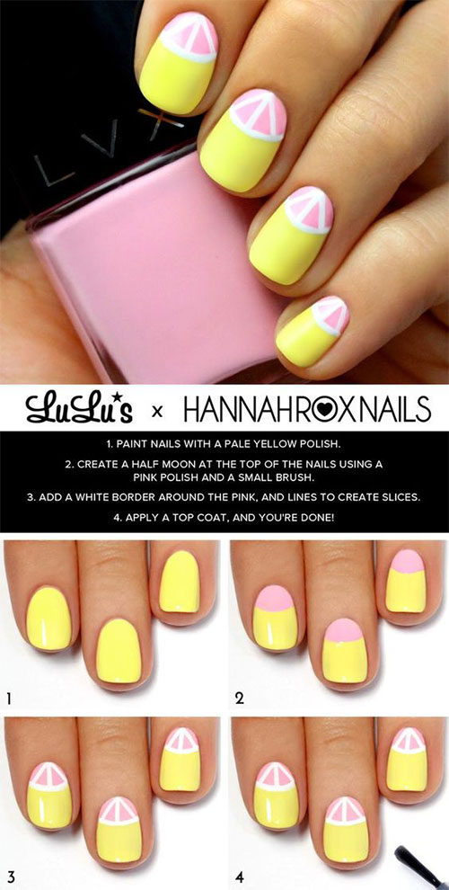 10-Easy-Summer-Nail-Art-Tutorials-For-Beginners-2018-3