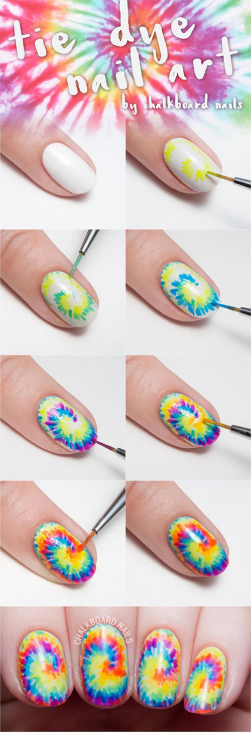 10-Easy-Summer-Nail-Art-Tutorials-For-Beginners-2018-4