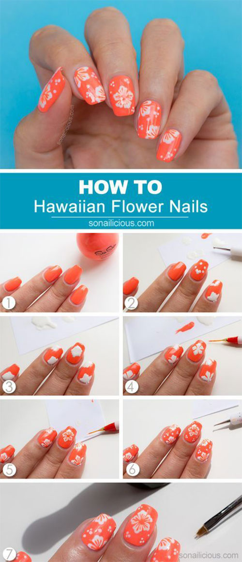 10-Easy-Summer-Nail-Art-Tutorials-For-Beginners-2018-6
