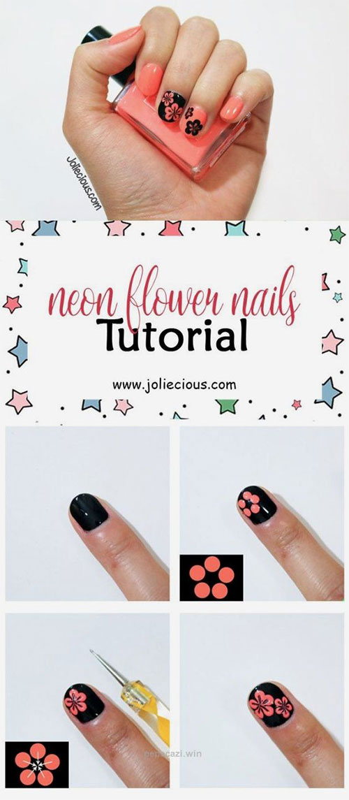10-Easy-Summer-Nail-Art-Tutorials-For-Beginners-2018-7