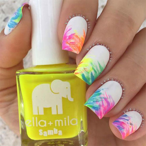 10-Neon-Summer-Nails-Art-Designs-Ideas-2018-1