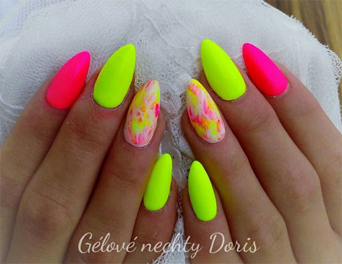 10 neon summer nails art designs amp ideas 2018 fabulous