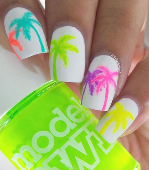 10-Neon-Summer-Nails-Art-Designs-Ideas-2018-3