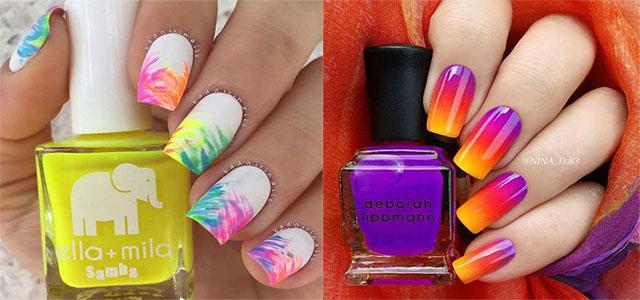 10-Neon-Summer-Nails-Art-Designs-Ideas-2018-F