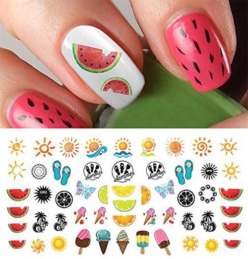 10-Summer-Nails-Art-Decals-Stickers-2018-5