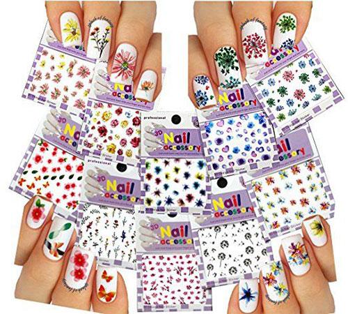 10-Summer-Nails-Art-Decals-Stickers-2018-7