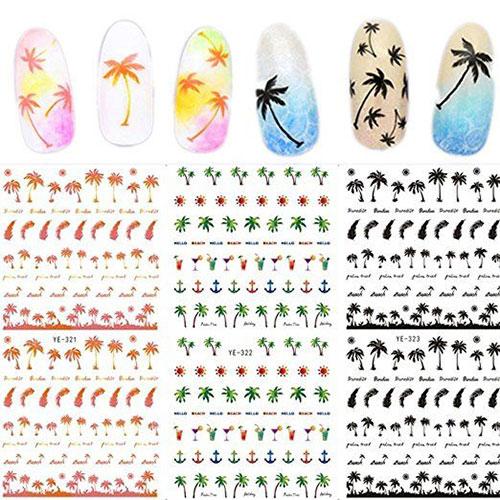 10-Summer-Nails-Art-Decals-Stickers-2018-8