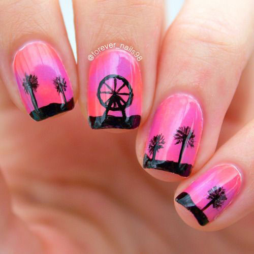12 Summer Gel Nail Art Designs Ideas 2018 Fabulous Nail Art Designs