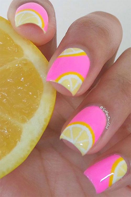 15 Simple Easy Summer Nails Art Designs Ideas 2018 Fabulous