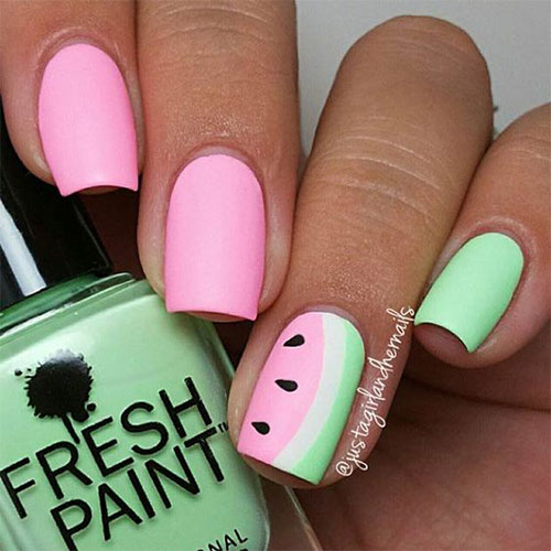 15 Simple Amp Easy Summer Nails Art Designs Amp Ideas 2018 Fabulous Nail Art Designs