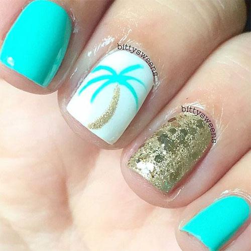 15+ Simple & Easy Summer Nails Art Designs & Ideas 2018