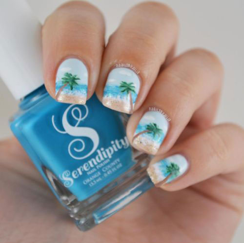 Summer-Beach-Nails-Art-Designs-Ideas-2018-15