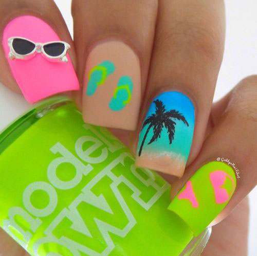 Summer-Beach-Nails-Art-Designs-Ideas-2018-2