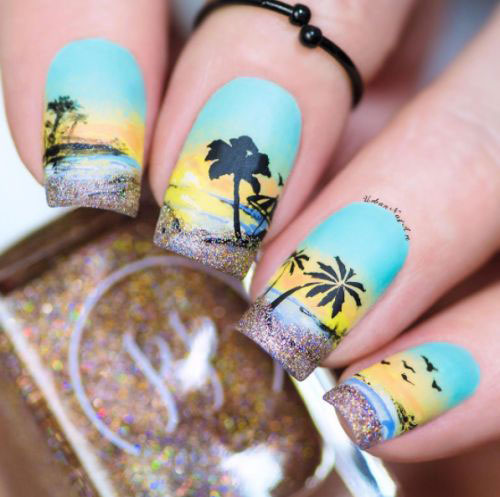 Summer-Beach-Nails-Art-Designs-Ideas-2018-6