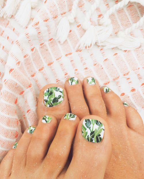 Summer Toe Nails Art Designs & Ideas 2018