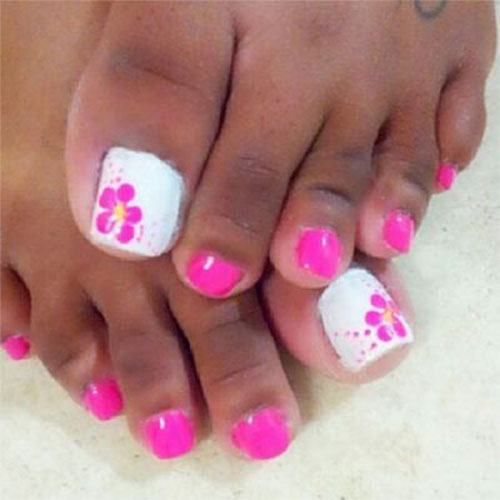 Wedding Nail Ideas For Summer: Summer Toe Nails Art Designs & Ideas 2018