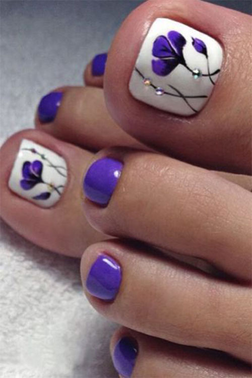 Summer-Toe-Nails-Art-Designs-Ideas-2018-8