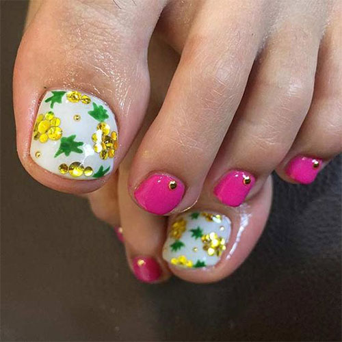 Summer-Toe-Nails-Art-Designs-Ideas-2018-9