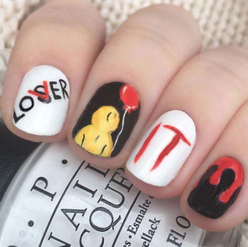 10-Black-White-Red-Halloween-Nails-Art-Designs-Ideas-2018-12