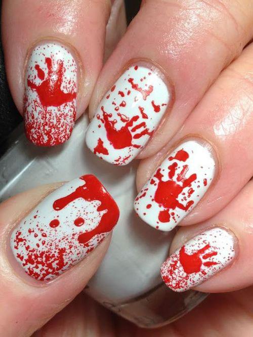 10-Black-White-Red-Halloween-Nails-Art-Designs-Ideas-2018-2