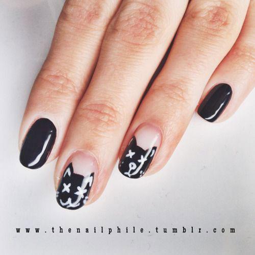 10-Halloween-Cat-Nails-Art-Designs-Ideas-2018-11