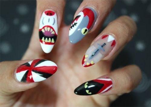 10-Halloween-Cat-Nails-Art-Designs-Ideas-2018-4