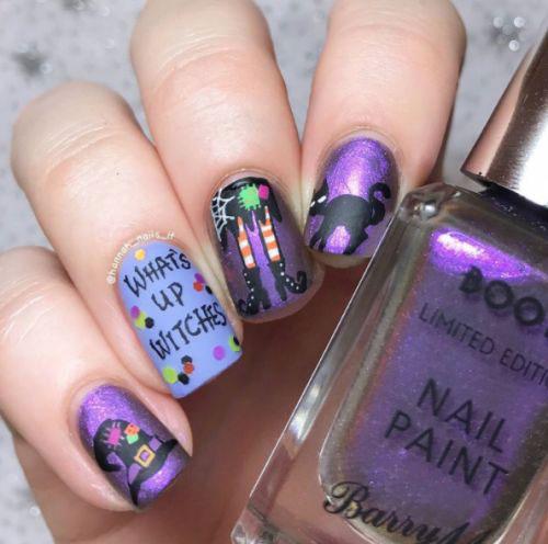 10-Halloween-Cat-Nails-Art-Designs-Ideas-2018-8