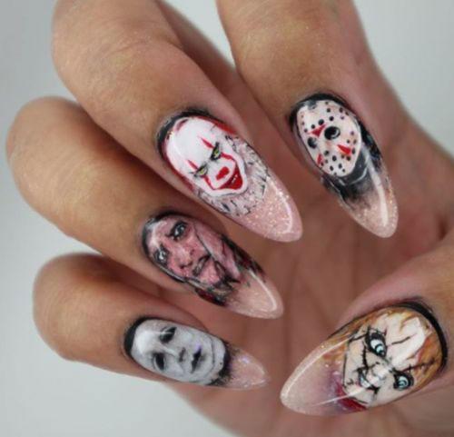 10 Halloween Spooky Nails Art Designs Ideas 2018 Fabulous Nail