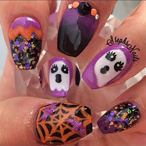 12-Halloween-Acrylic-Nails-Art-Designs-Ideas-2018-8