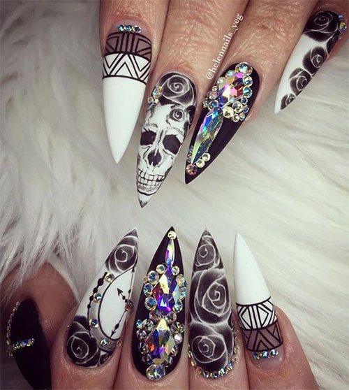 12-Halloween-Coffin-Nails-Art-Designs-Ideas-2018-12