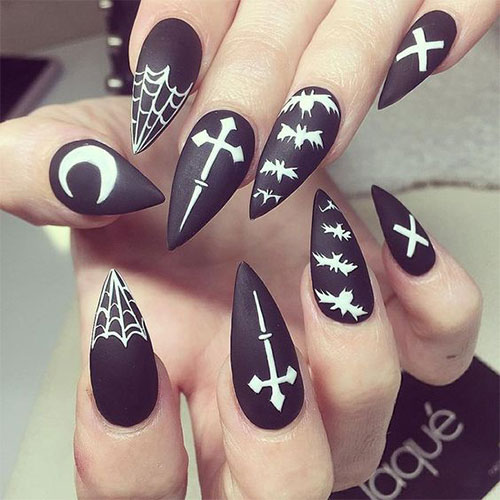12-Halloween-Coffin-Nails-Art-Designs-Ideas-2018-6