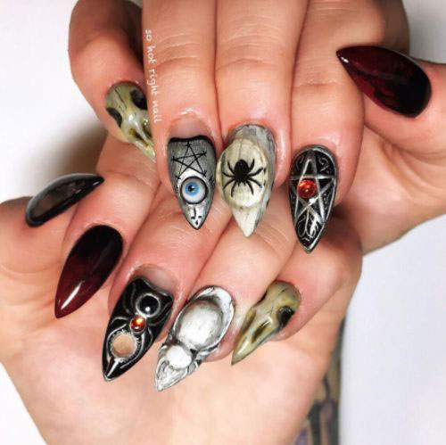 15-Amazing-3d-Halloween-Nails-Art-Designs-Ideas-2018-5