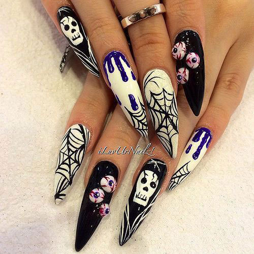 15-Amazing-3d-Halloween-Nails-Art-Designs-Ideas-2018-8