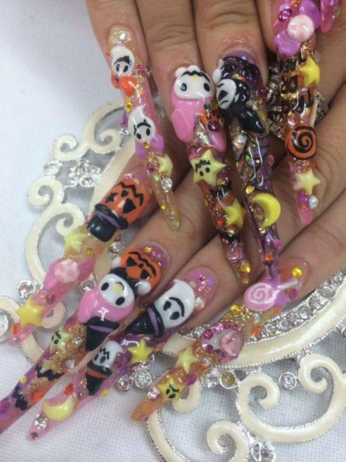 15-Amazing-3d-Halloween-Nails-Art-Designs-Ideas-2018-9
