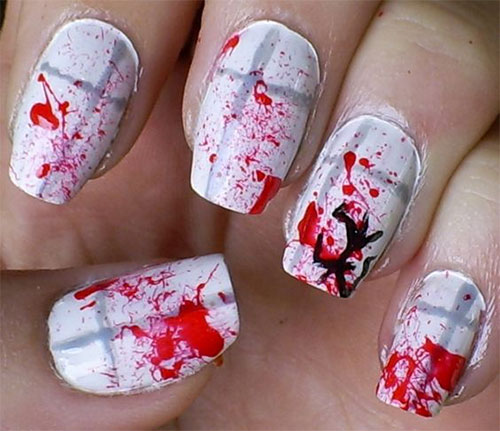 15-Halloween-Blood-Nails-Art-Designs-Ideas-2018-3