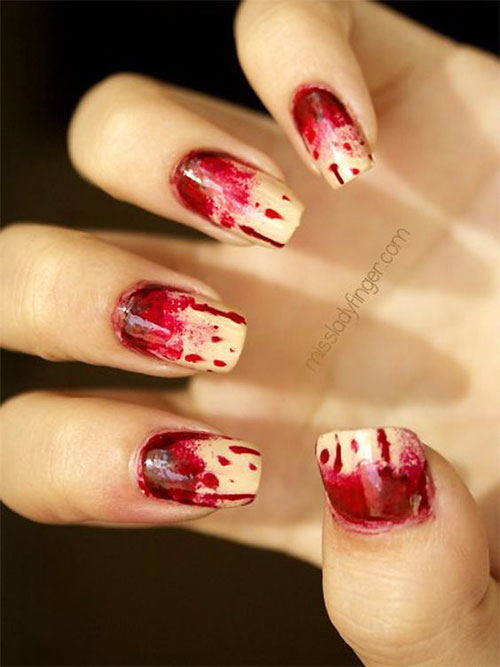 15-Halloween-Blood-Nails-Art-Designs-Ideas-2018-9