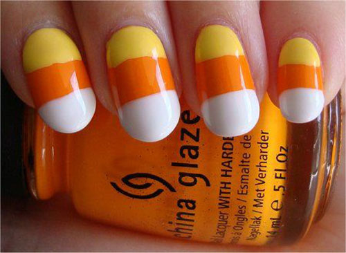 15-Halloween-Candy-Corn-Nails-Art-Designs-Ideas-2018-1