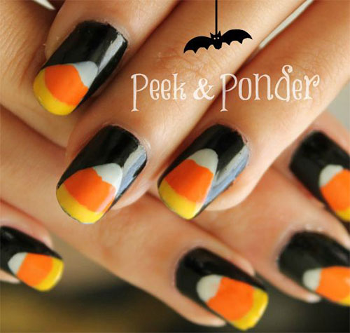 15-Halloween-Candy-Corn-Nails-Art-Designs-Ideas-2018-10