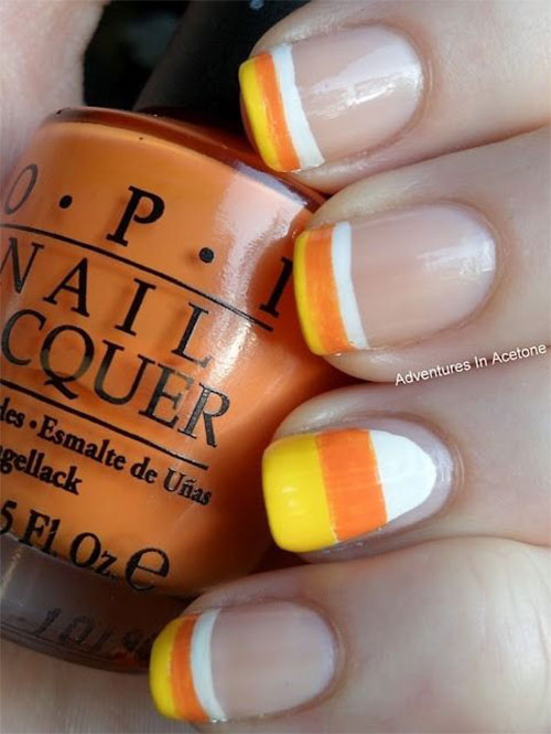 15-Halloween-Candy-Corn-Nails-Art-Designs-Ideas-2018-13